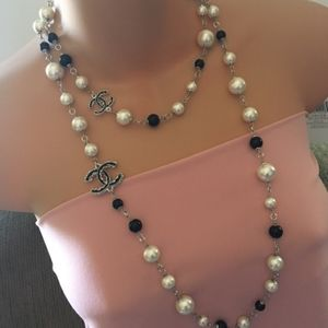 Chanel Pearl Long Necklace